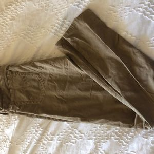 Ag Adriano Goldschmied Pants - AG super skinny corduroy pants